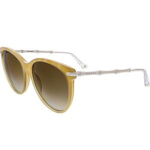 Gucci bamboo cat eye sunglasses - new with case